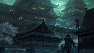 Rise of the Kage - Outside the Castle - by KlausPillon