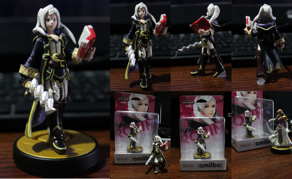 Female Robin Amiibo finished by Gregarlink10