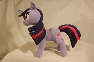 Twilight Sparkle Plush (Squishy!) by TheRedBandit