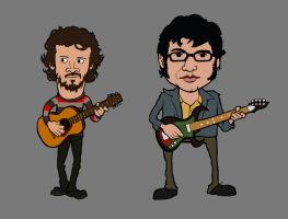 Flight of the Conchords by Panistheman