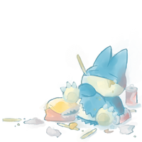 Lazy Days by crayon-chewer
