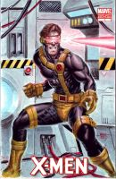 X-men Blank Cyclops by edtadeo
