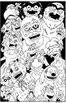 Dawn of the Muppets by PHARAOHSCURSE