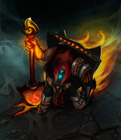 Pyromancer Yorick by SlownDamn