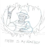 Freddy is my Homeboy by Pilar-Sama
