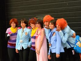 Ouran Host Club Group 2 - Anime Central 2013. by EndOfGreatness