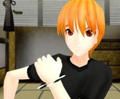 Kyo Sohma- MMD by luckygirl88