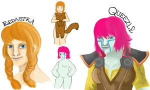 ALLODS ONLINE DOODLES by The-Quoi