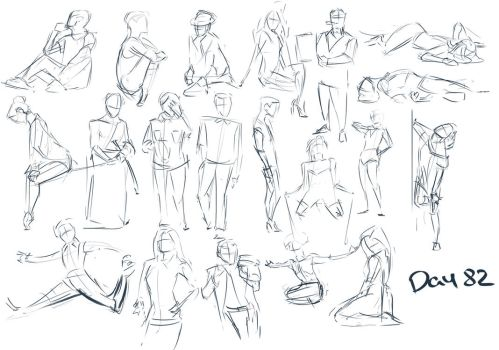 Figure exercises - Day 82 by Dante-mL