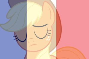 Pray For France Applejack by Michaelsety