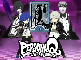 Persona Q: Yu/Minato Fan-made Wallpaper by AkiyamaFC