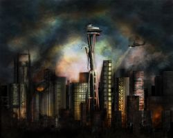 Seattle Aftermath by Such-A-Dreamer