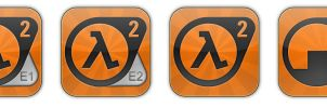 Half-Life 2 Collection Icons... by smoke999