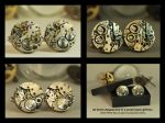 Handcrafted Vintage Steampunk Cufflinks by Henri-1