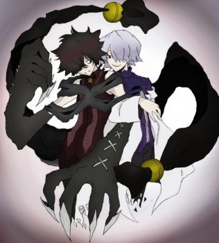 Cheshire and Break - Pandora Hearts by mmeades01