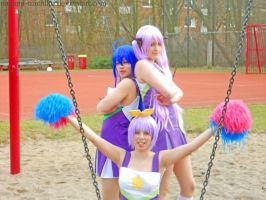 Lucky Star Cheerleader endpose by Nanami-Michiko