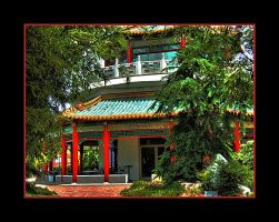 Pagoda I by Scarlettletters