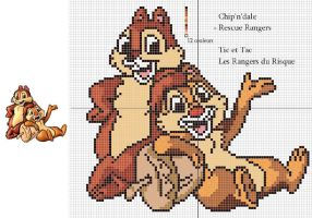 Rescue Rangers Pattern by Santian69