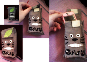 Totoro Mobile Case by Kell0x