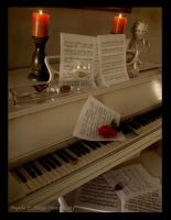 A pianist's workplace by LovelyAngie