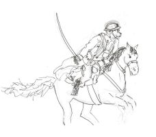 Cavalary charge - 1939 by Smokorys