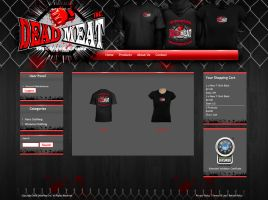 mma appreal ecommerce site by dRoop