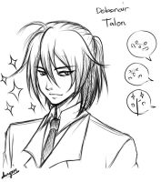 Debonair Talon Sketch by Dweynie