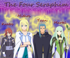 ::The Four Seraphim:: by awesomeyuan