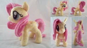 Fluttershy Plush by dollphinwing