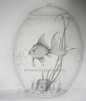 Goldfish Cookie Jar by fanchielover15