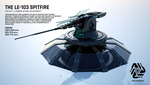 LE-103 Spitfire Heavy Laser Emplacement by Duskie-06