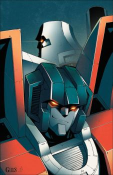 All Hail Megatron issue3 cover by dcjosh