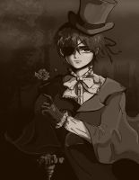 Ciel Phantomhive manga version by arrowchild