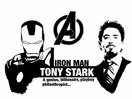 Avengers - Tony Stark by Mr-Saxon