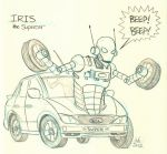 31 - Iris the Supercar by DBed