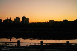 Changchun Night by metalkid