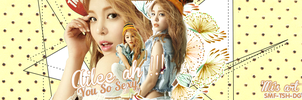 Cover Zing Ailee - by comcao on deviantart by Comcao