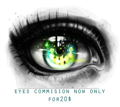 10 EYES- COMMISION by ryky
