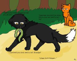 Ravenpaw's catch by anime-animal