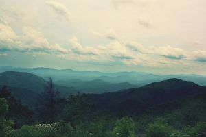 NC Mountains 3 by MidnightDaisyStudio