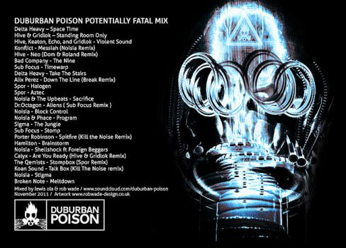 Potentially Fatal DNB MIX Artwork by cps90