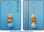 Avatar Aang phone charm by Nko-ennekappao