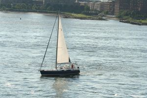 Sailboat 2 by hyannah77-stock