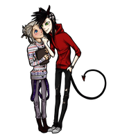 .:Aiden and Nickolai:. by SeptemberFifteenth