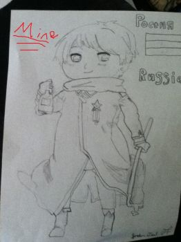 Russia MINE uncolored by teal1114