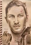 Tom Hardy Sketch by TheKupikimijumjum
