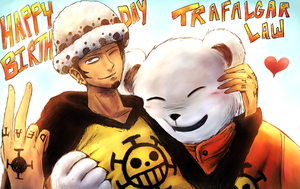 OP Birthdays: Trafalgar Law by Olivia-27