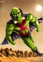 Martian Manhunter by Robert-Shane