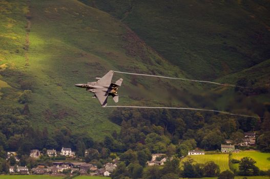 F-15E in the Lakes by do7slash