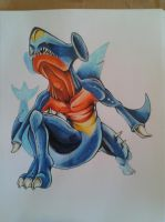 Garchomp by a-barbosa